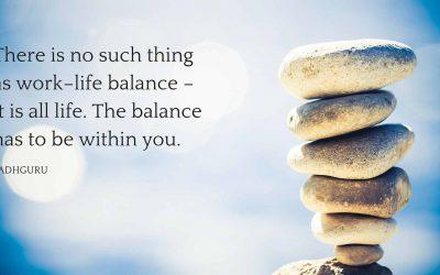 Work-life balance, bestaat dat wel?